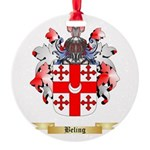 Beling Round Ornament