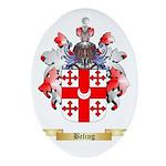 Beling Ornament (Oval)