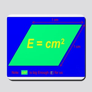 E=cm2 (BL) Mousepad