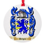 Belgin Round Ornament