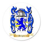 Belgin Round Car Magnet