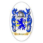 Belgin Sticker (Oval 50 pk)