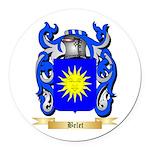 Belet Round Car Magnet