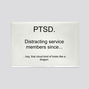 PTSD - Cloud Dragon Rectangle Magnet