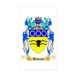 Bekman Sticker (Rectangle 50 pk)