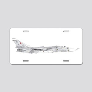 Su-24 Aluminum License Plate