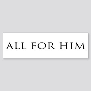 All for Him (white)