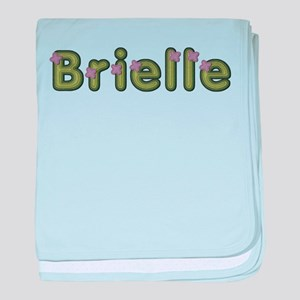 Brielle Spring Green baby blanket