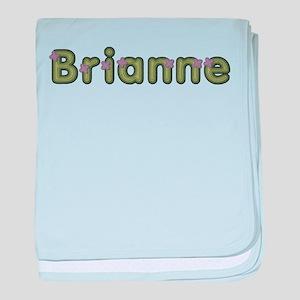 Brianne Spring Green baby blanket
