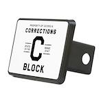 C BLOCK Rectangular Hitch Cover
