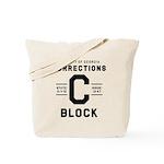 C BLOCK Tote Bag