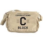 C BLOCK Messenger Bag