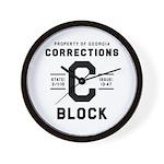 C BLOCK Wall Clock