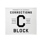 C BLOCK Throw Blanket