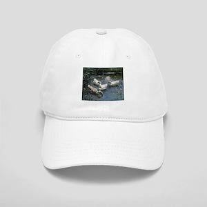 Floating Flock of Ducks Baseball Cap