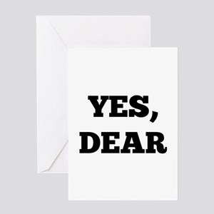 Yes, Dear Greeting Card