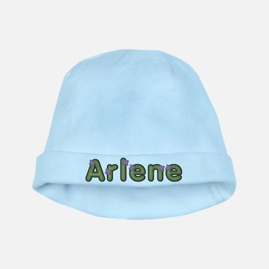 Arlene Spring Green baby hat