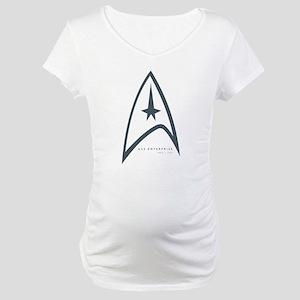 USS Enterprise Maternity T-Shirt