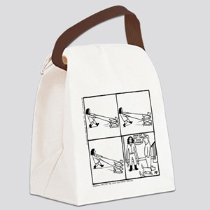 Power Dog - Canvas Lunch Bag