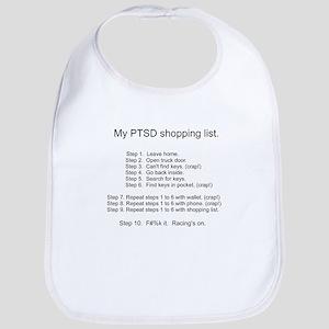 PTSD - Shopping list - Racing's On Bib