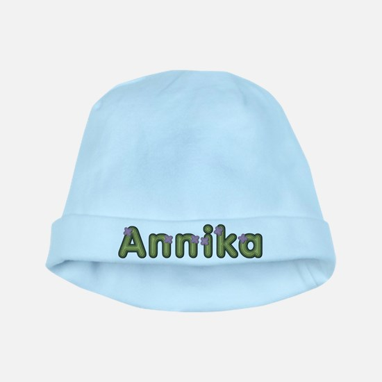 Annika Spring Green baby hat