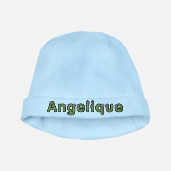 Angelique Spring Green baby hat