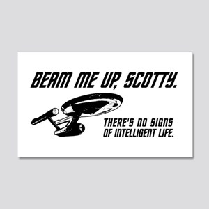 Beam Me Up Scotty Wall Decal