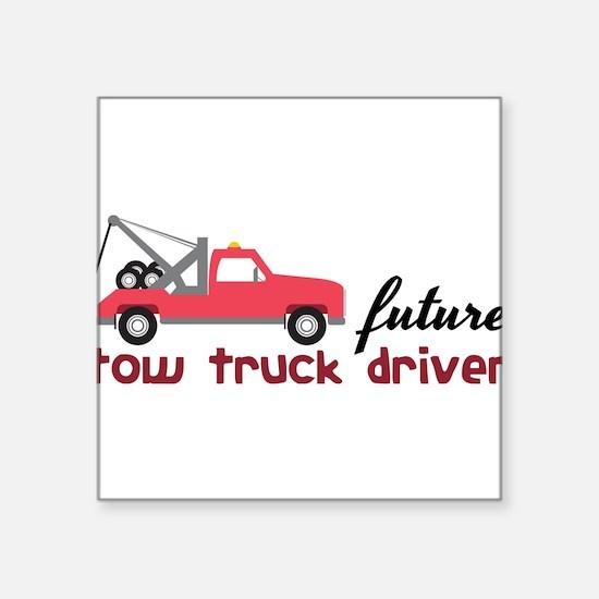 Future Tow Truck Driver Sticker