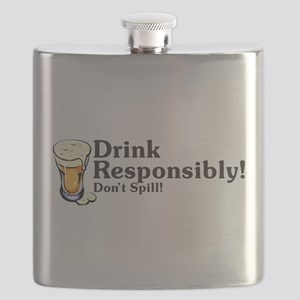 Drink Responsibly Flask