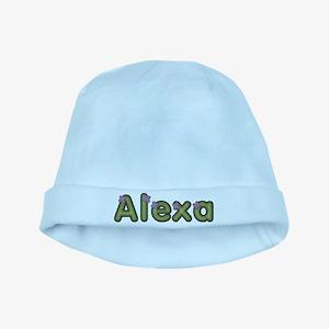 Alexa Spring Green baby hat