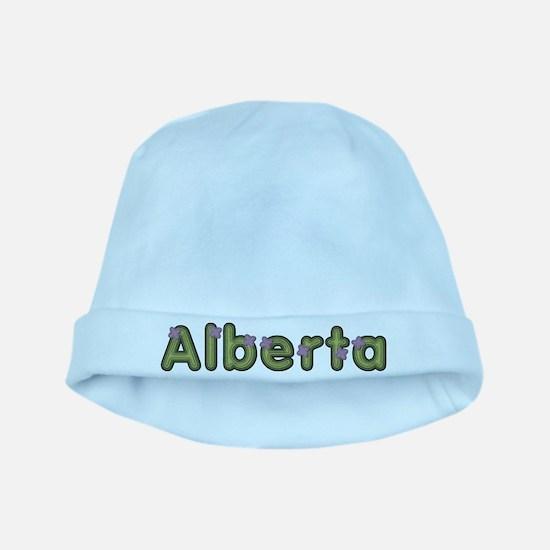 Alberta Spring Green baby hat
