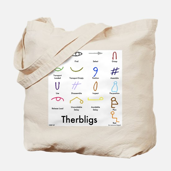 Therbligs Front.png Tote Bag
