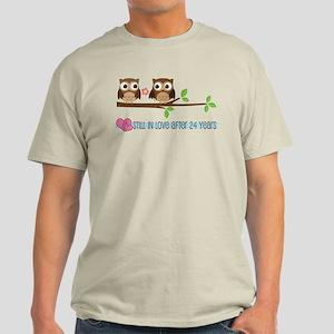 Owl 24th Anniversary Light T-Shirt