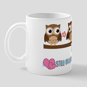 Owl 21st Anniversary Mug