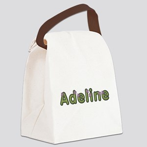 Adeline Spring Green Canvas Lunch Bag
