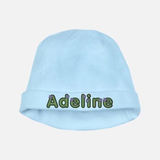 Adeline Spring Green baby hat