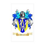 Beker Sticker (Rectangle 10 pk)