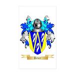 Beker Sticker (Rectangle 50 pk)