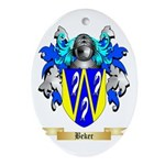Beker Ornament (Oval)