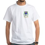 Beirne White T-Shirt