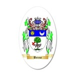 Beirne 20x12 Oval Wall Decal