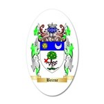 Beirne 35x21 Oval Wall Decal