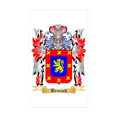Beinisch Sticker (Rectangle 10 pk)