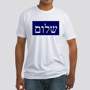 Shalom shalom Fitted T-Shirt