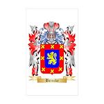 Beincke Sticker (Rectangle 50 pk)