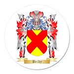 Beilby Round Car Magnet