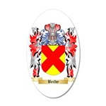 Beilby 35x21 Oval Wall Decal