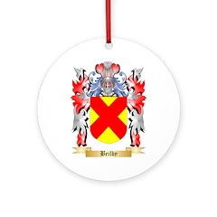 Beilby Ornament (Round)