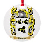 Behring Round Ornament