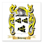 Behring Square Car Magnet 3
